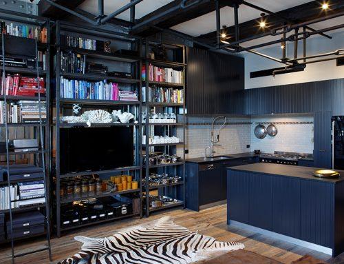 Internal storage and organisation in the kitchen